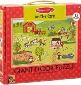 Melissa & Doug Giant Floor Puzzle - On The Farm