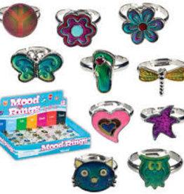 Toysmith Cutie Mood Ring Owl