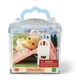 Calico Critters Puppy Slide Mini Carry Case