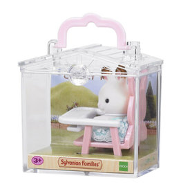 Calico Critters Bunny Highchair Mini Carry Case