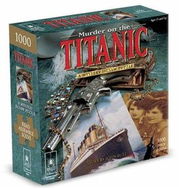 University Games Murder on the Titanic - Murder Mystery Puzzle