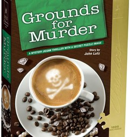 University Games Grounds for Murder - Murder Mystery Puzzle