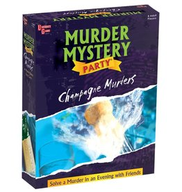 University Games The Champagne Murder - Murder Mystery Party Game