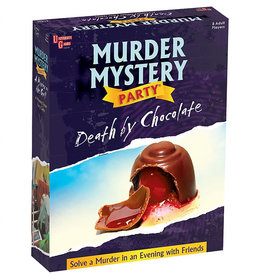 University Games Death by Chocolate - Murder Mystery Party Game