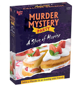 University Games Slice of Murder Murder Mystery Party Game