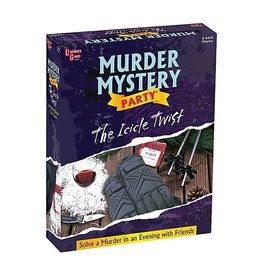 University Games Icicle Twist Murder Mystery Party Game