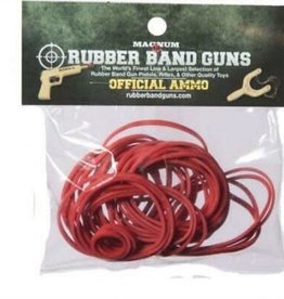 Magnum Red Rubber Band Ammo 4 oz