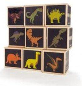 Uncle Goose Uncle Goose Dinosaur Blocks