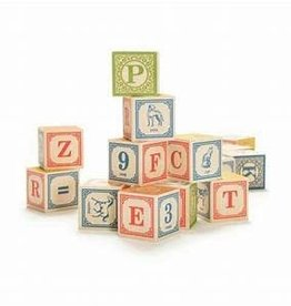 Uncle Goose 28 Block Classic Alphabet Set