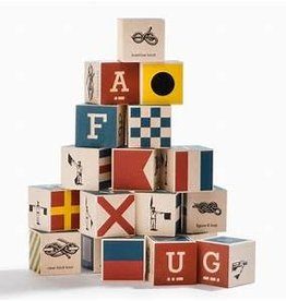 Uncle Goose Nautical Blocks With Bag