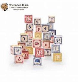 Uncle Goose French Alphabet Blocks