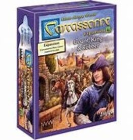 ZMan Games Carcassonne Exp 6: Count, King & Robber