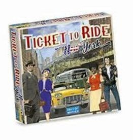 Days of Wonder Games Ticket to Ride New York City