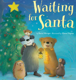 Tiger Tales Waiting for Santa by Steve Metzger