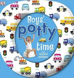 DK Children Boy's Potty Time w/Reward Stickers