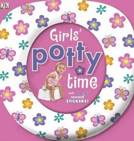DK Children Girl's Potty Time w/Special Reward Stickers