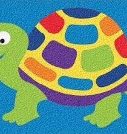 LAURI Crepe Rubber Puzzle Turtle assorted colors