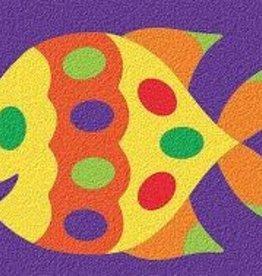 LAURI Crepe Rubber Puzzle Fish assorted colors