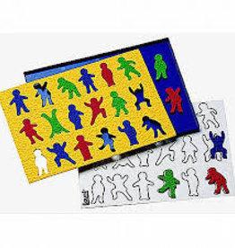 LAURI Crepe Rubber Puzzle Kids assorted colors