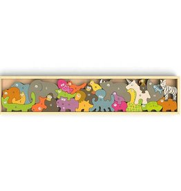 BeginAgain Animal Parade from A to Z Puzzle & Playset