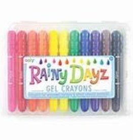 ooly Rainy Dayz Gel Crayons - Set of 12