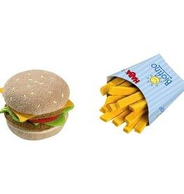 Haba Hamburger and French fries