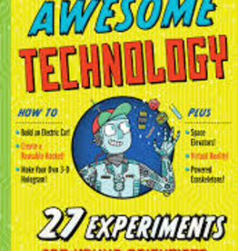 Workman Publishing Co The Book Of Terrifyingly Awesome Tech