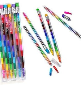ooly Presto Chango Erasable Crayons - Set of 6