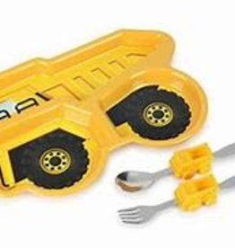 Kids Funware Me Time Dump Truck Meal Set