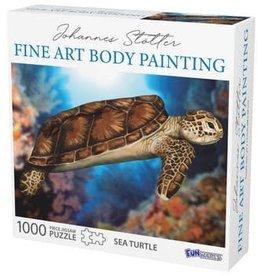 FunWares 1000 pc Johannes Stotter Sea Turtle Body Art