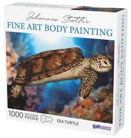 FunWares Johannes Stotter Sea Turtle Body Art 1000 pc