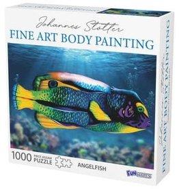 FunWares Johannes Stotter Angel Fish Body Art 1000 pc