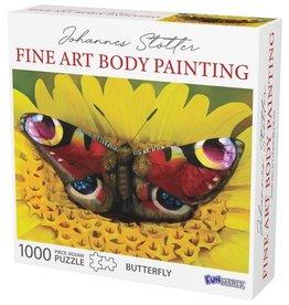 FunWares Johannes Stotter Butterfly Body Art 1000 pc