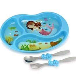 Kids Funware Me Time Mermaid Meal Set