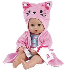 "Adora Dolls 13"" Bathtime Baby Kitty"