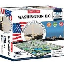 4D Cityscape Time 1100 pc 4D Puzzle Washington DC, USA
