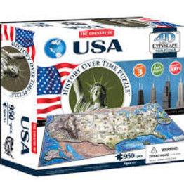 4D Cityscape Time 4D USA Puzzle 950 pc