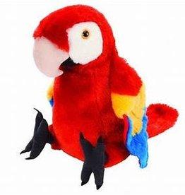 """Wild Republic 10"""" Macaw Scarlet"""