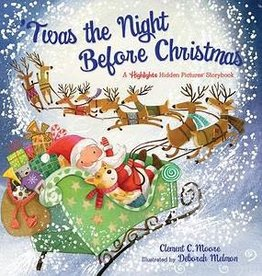 Highlights Twas The Night Before Christmas by Clement Clarke Moore
