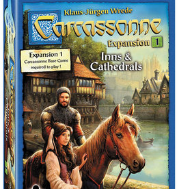 ZMan Games Carcassonne Expansion 1  Inns & Cathedrals Expansion