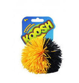 Schylling Koosh Ball Black and Yellow Split