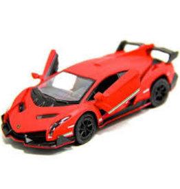 Kinsmart Lamborghini Veneno Red