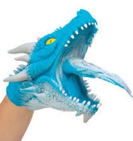 Schylling Dragon Hand Puppet Blue