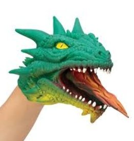 Schylling Dragon Hand Puppet Green