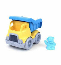 Green Toys Dumper  Construction Truck Yellow