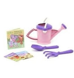 Green Toys Watering Can Activity Set  - Abby Pink and Purple