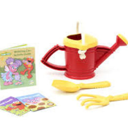 Green Toys Watering Can Activity Set - Elmo Red and Yellow