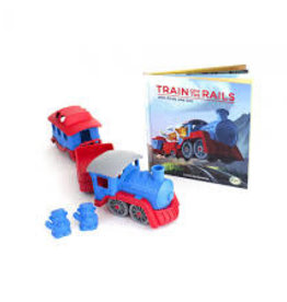 Green Toys Train and Storybook Set