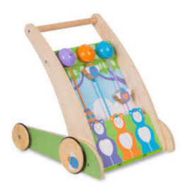Melissa & Doug First Play Ring & Ding Forest Friends Push Toy