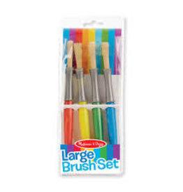 Melissa & Doug Large Paint Brushes Set of 4